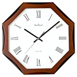 WOOD CRAFT ws-1138a sweep wall clock (wo...