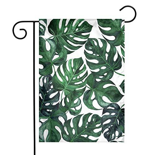 Palm Leaves Art Garden Flag Yard Flag 12