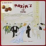 Maxim's de Paris Coffre en Métal Sem Assortiment de 16 Rochers 140 g