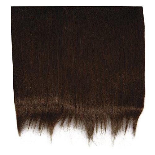 Rayher 5320405- Felpa de pelo largo, 14x 20x 7cm, bolsa, 1 corte, color marrón oscuro