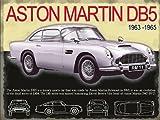 Aston Martin DB5Große Metall Zeichen (OG 4030)