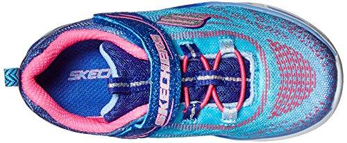 Skechers - S lights violet/rose - Chaussures baby Rose fluorescent