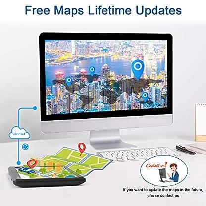 GPS-Navi-Navigationsgerte-fr-Auto7-Zoll-8GB-256MB-Touchscreen-Navigation-fr-LKW-PKW-KFZPOI-Blitzerwarnung-Sprachfhrung-Fahrspurassistent-2019-Europa-Karten