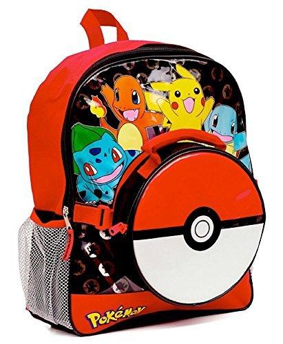 Pokemon-grande-mochila-y-fiambrera-para-de-pok-ball-bolsa-para-el-almuerzo-2-unidades-colores-variados