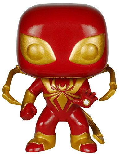 Funko Pop Spiderman 'Iron Spider' (Marvel – Civil War 103) Funko Pop Spiderman
