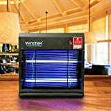 #5: WinoteK Electric Bug Zapper, Insect Killer, High Voltage Rectifier (Black, AE27)