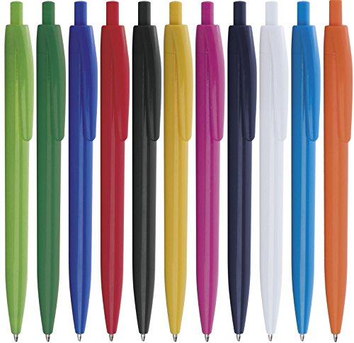 100 pezzi penne personalizzabili personalizzate con nome logo o slogan gadget promozionali - bud pd480 - stampa 1 colore