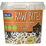 BIOGLAN Superfoods Raw Bites Chia/Maca/Cacahuète 4 x 140 g