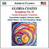 Gloria Coates/Sinfonie 15/Kantate/Transitions