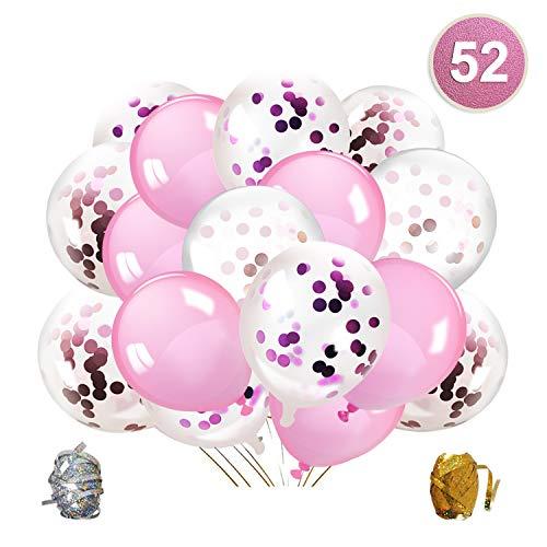 Qipop Rose Confettis Ballons Fêt...