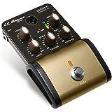 L. R. Baggs Acoustic Session DI filtro de muesca, pedal, interruptor Phaser Saturar ruedas EQ y compresor