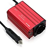 KKmoon 300 W Konverter 12 V DC 230 V AC Auto-Adapter Dual USB