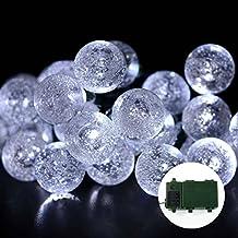 lederTEK Super brillante energia batteria di Cristallo Globo luci leggiadramente della stringa a 30 LED (Illuminazione Decorativa A Sospensione Illuminazione)