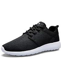 063681c0168 CAMEL CROWN Zapatos Deportivos para Hombres Zapatillas Running Ligeras Calzado  Casual de Malla para Atletismo Caminar