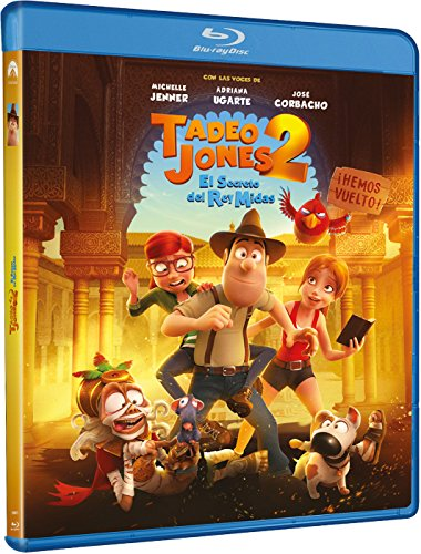 Tadeo Jones 2: El Secreto Del Rey Midas [Blu-ray] 51l60H25 wL
