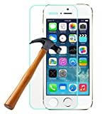 2 IN 1 Tempered Glass for Iphone 5 5s 5c Explosion Proof Tempered Glass (FRONT AND BACK)