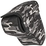 Universal Water Resistant Neoprene Protective Camera Case For Large SLR DSLR Cameras with Lens in Black and White Camouflage Print