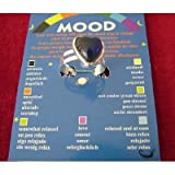 Spiritual Gifts Mood Ring; Heart Shaped on a Card with Colour Coded Chart