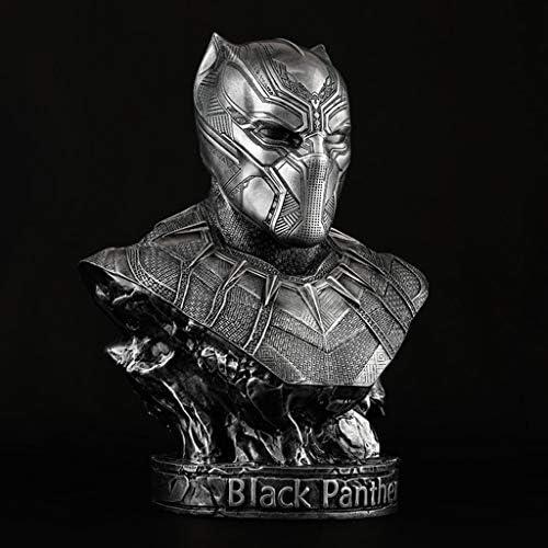QYSZYG Avengers Movie Movie Movie Edition Panthère Buste Modèle GK Statue 35cm Décoration Anime | La Conception Professionnelle  846b52