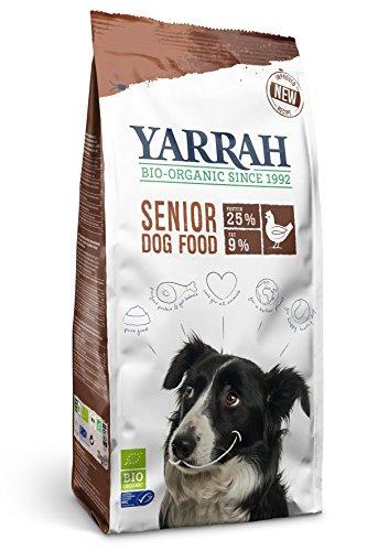 Yarrah Senior Huhn, Fisch, Kräuter 2kg Bio Hundefutter, 1er Pack (1 x 2 kg)