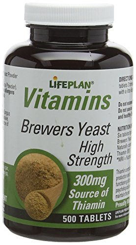 Lifeplan High Strength Brewers Yeast 300mg 500 Tablets Test