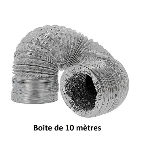 Alu-Abluftschlauch Aluflexrohr Lüftungsrohr Aluconnect - 10m (315mm)
