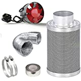 """Best Air Carbon Filters - BLACK ORCHID 4"""" Extractor Fan Carbon Filter Kit Review"""