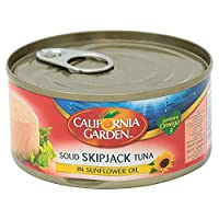 ‏‪California Garden Solid Skipjack Tuna in Sunflower Oil, 170 gm‬‏