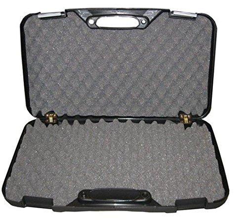 Megaline Pistolenkoffer schwarz 50 x 30 x 8,5 cm