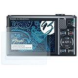 Bruni Schutzfolie für Canon PowerShot SX610 HS Folie - 2 x glasklare Displayschutzfolie