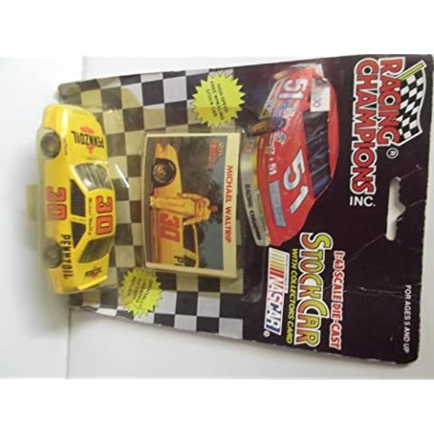 Michael Waltrip 1992 1:43 Scale Die-cast Car #30 by Racing Champions