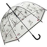 Parapluie transparent cloche - Cloche en plastique transparent jardin ...