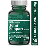 Carbamide Forte Joint Support Supplement with Glucosamine 1800mg, Chondroitin 450mg, MSM 1005mg, Boswellia 150mg & 4 Ingredients Per Serving | Joint Pain Supplement – 90 Tablets