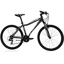 Monty MTB KY12 - Bicicleta para Mujer, Color Gris, 17