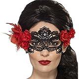 Antifaz Día de los Muertos | Máscara de Encaje | Mascarilla Halloween | Careta Veneciana