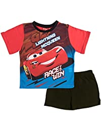 Disney Cars Boys Short Pyjamas Pjs Race to Win