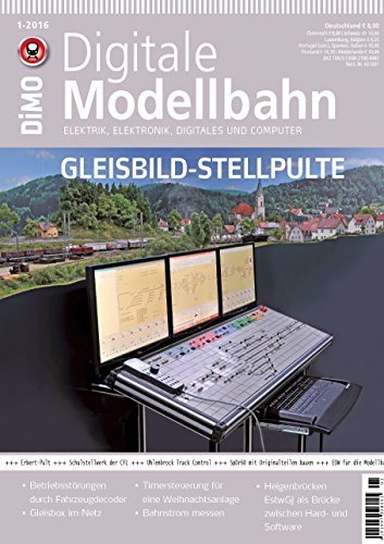 Digitale Modellbahn - Gleisbild-Stellpulte - Elektrik, Elektronik, Digitales und Computer - MIBA, Eisenbahn Journal, ModellEisenBahner 1-2016