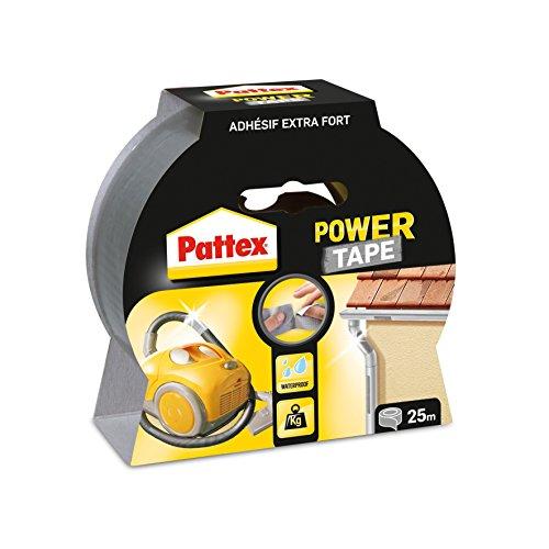 Pattex Gewebeband Power Tape, (B)50 mm x (L)25 m, grau