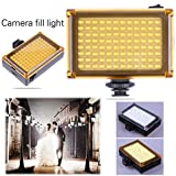 Fill Light Photography Trendyest 96 LED Phone Video Light Photo Lighting on Camera Hot Shoe LED Lamp