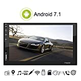 Dayangiii Car GPS, Car Android 7.1 Navigation Bluetooth High-Definition MP5 Player Touch Screen