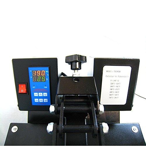 HobbyCut AA1-S Transferpresse 38cm x 38cm Textilpresse 2000 Watt Modell 2016 - 4