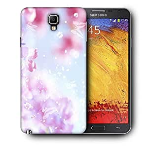 Snoogg Sparkling Butterflies Printed Protective Phone Back Case Cover For Samsung Galaxy NOTE 3 NEO / Note III