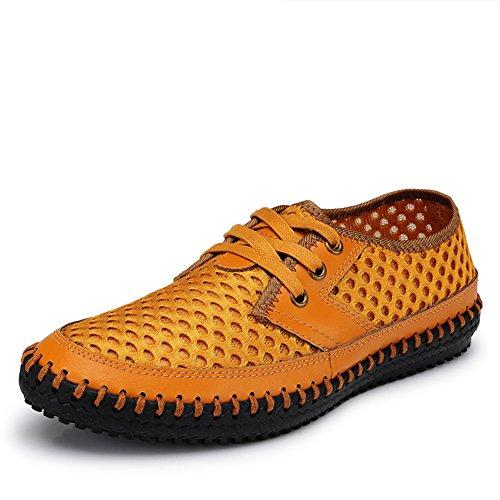 Zapatos de lona de verano/Hombre deportiva casuales zapatos planos/Zapatos planos pedal respirables lazy-D Longitud del pie=24.3CM(9.6Inch) s.Oliver 25314 xWqynIK