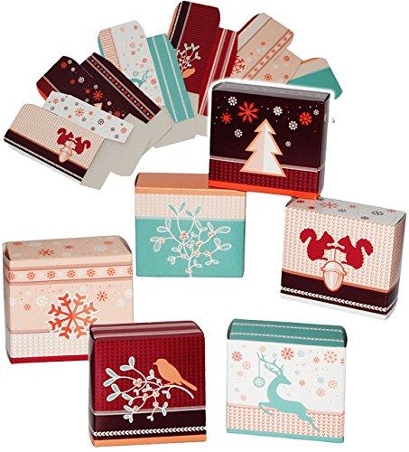 24 Stück _ Geschenkboxen / Papierboxen -