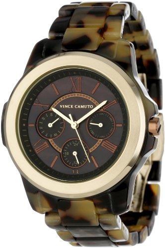 Vince Camuto VC/5030BMTO - Reloj de cuarzo para mujer color marrón