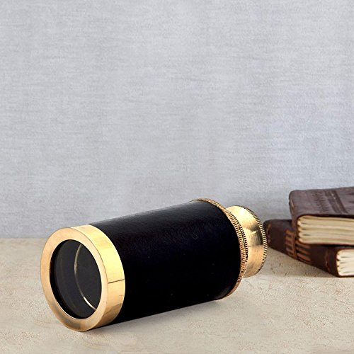 Gift Shop Pure Brass Antique Design Real Telescope Gift -157  available at amazon for Rs.379