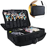 Best Train Cases - Travelmall Professional Makeup Train Case Cosmetic organizer Make Review