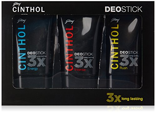 Cinthol Deo Stick for Men Combo, 40g (Pack of 3)
