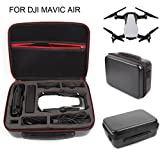 For DJI MAVIC Air,Diadia Waterproof PU+PU Portable Black Quadcopter Drone Carrying Case,3 Extra
