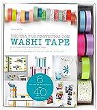 Kit Decora tus proyectos con washi tape: y otras cintas adhesivas (Kits Cúpula)